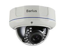 Barlus 1080P 2MP POE IP Dome Camera Indoor/Outdoor Weatherproof Security Camera