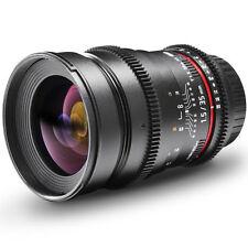Walimex Pro 35 mm f/1.5 MF VDSLR Objektiv für Canon