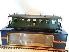Spur G, neuer, 4-achsiger Personenwagen, Train - grün, Günstigvariante! Original