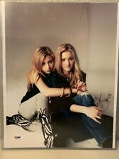Aly Michalka & AJ Michalka Signed 11x14 Photo PSA/DNA
