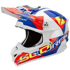 CASCO MOTO CROSS FIBRA - tg L - SCORPION  VX-15 Evo Air Guscio Esterno in FIBRA
