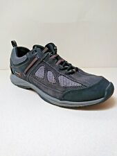 Rockport Wmn 6.5W Xcs Sneakers Tennis Shoes Athletic Walking Leather Black Gray