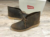 Clarks Originals Desert Boot Leather Men's Beeswax Shoes Size 10 M