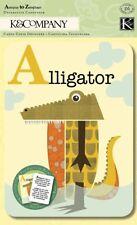 K&COMPANY- Actopus To Zelephant Alphabet Cards