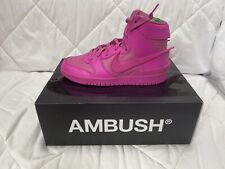 Nike Dunk High Ambush Active Fuchsia US 6 EU 38.5