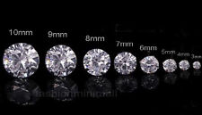 Steel Studs Earrings With Artificial Diamond One Day Ship Mens Womens Stainless