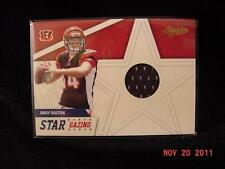 2011 Absolute Memorabilia NFL Star Gazing Andy DALTON RC Worn Jersey Rookie SP
