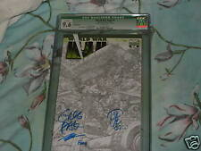 WORLD WAR HULK #3 SKETCH VARIANT CGC SS 9.6 SIGNED 4X GREG PAK, JOHN ROMITA JR