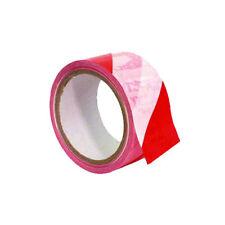 0,13 €/m p-señal cinta adhesiva a rayas rojo/blanco marcador banda musikato 003000592k
