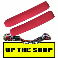 New Red Lever skins / foams Motorcycle Trials Enduro MX Quad ATV more control
