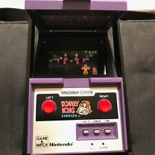 Nintendo Game & Watch Donkey Kong Circus Panorama Screen 1984 - Great Condition