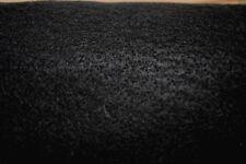 Black Felt 100% Acrylic Fabric By The 1/2 Yard