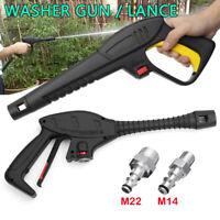 High Pressure Power Car Washer Trigger Gun M14/M22 Hose Fitting For LAVOR VAX