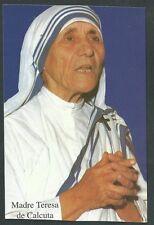 Estampa de la Madre Teresa andachtsbild santino holy card santini