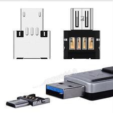 Micro USB Typ B OTG Adapter Stecker auf USB Buchse Typ A 2.0 Host Stick NEU