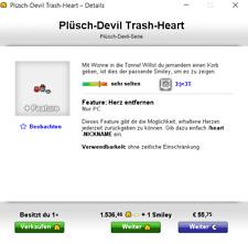 Knuddels.de Smiley Devil Trash-Heart