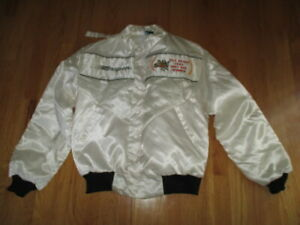 1984 SNAP-ON Team 1 RICK MEARS INDY 500 Winner Button-Down Zippered (LG) Jacket