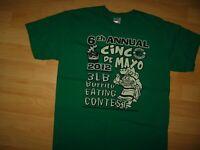 Sandbar Cocoa Beach FL T Shirt Large - 2012 Florida Sports Bar Cinco De Mayo Tee