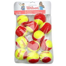 WILSON MINI BIG RED TENNIS BALL / JUNIOR TENNIS BALLS, ONE DOZEN BALLS free post