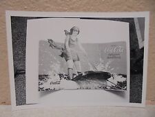 Vintage COCA-COLA PHOTO from COLA CALL Newsletter Of Vintage Water Sports