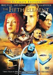 The Fifth Element DVD Luc Besson(DIR) 1997