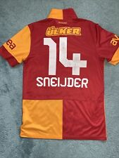 More details for mens galatasaray home 2012/13 shirt wv sneijder on used condition size small