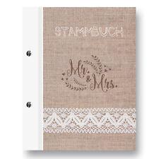 Stammbuch Lino A5  Familienstammbuch Stammbuch der Familie Hochzeitsdokumente