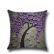 Flower Pillowcase Sofa Throw Pillow Case Cushion Cover Bedroom Office Home Decor