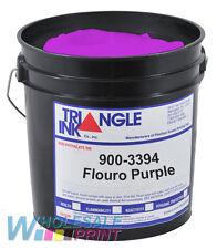 Triangle Ink 900-3394 Flouro Purple screen printing plastisol 1 Quart (946ml)