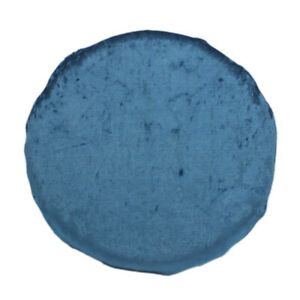CURCYA Ice Crushed Velvet Cushions Round Memory Foam Chair Seat Cushion Pillow