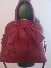 Valentino bow leather shoulder bag