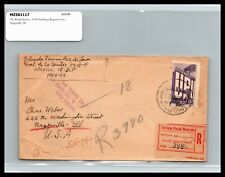 GP GOLDPATH: MEXICO COVER 1950 REGISTERED LETTER _CV778_P06
