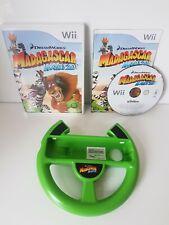 Madagascar: Kartz (Nintendo Wii, 2009) Includes Official Green steering wheel