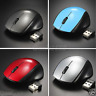 For Computer PC Laptop Wireless Mouse Optical Cordless 2.4GHz Mice +USB Receiver