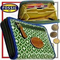 FOSSIL Damen Portemonnaie Geldbeutel Geldbörse Geldtasche Portmonee Börse NEU
