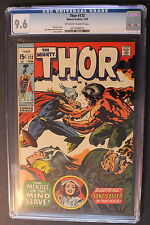 THOR 172 JANE FOSTER Kidnapped 1970 Stan Lee JACK KIRBY Bill Everett CGC NM+ 9.6