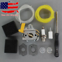Carburetor For Ryobi BC30 RY30004 RY30530 RY52001 RY52502 Air Filter Tool Kit