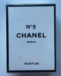 CHANEL NO 5 PARFUM 7 ml 0.23 fl oz VINTAGE SEAED BOX