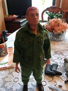 Vintage Gi Joe with accessories