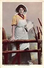 Edwardian Actress Miss Phyllis Dare costume 1907