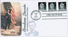 SC 4860, 2014 Abraham Lincoln, FDC, Item 14-029