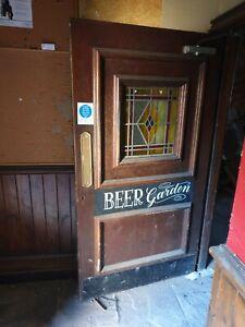 Victorian pub Door