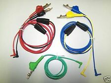TEST LEADS FOR 3M DYNATEL 965DSP 5 CABLE KIT 965DSP-01-KIT-6  80-6108-6436-7 NEW
