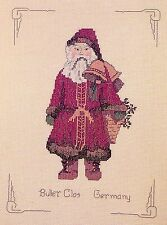 "German Santa ""Buller Clos"" X-stitch chart"
