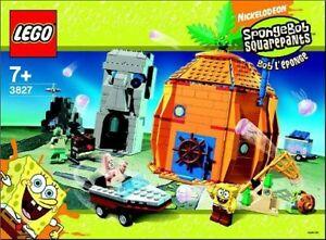LEGO 3827 SpongeBob SquarePants Adventures In Bikini Bottom. Free Delivery