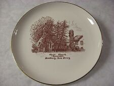 CHRIST CHURCH (Episcopal) - Woodbury, NJ - Commemorative Plate