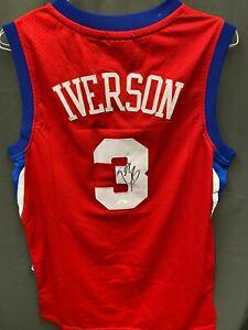 POST MALONE Signed 'White Iverson' Basketball Jersey Autograph AUTO JSA COA Sz L