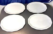 Rosenthal Polygon Weiss set 4 Vassoi cm 32 - 16000 / 800001 - 4 Oval Dishes  NEW
