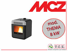 Stufa a pellet MCZ mod. THEMA Air - pellet stove -  potenza 8 kW