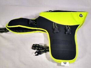 Arcadia Trail Dog Lifejacket Flotation Coat High Vis. Yellow Size Medium